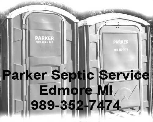 Parker Septic Service Edmore Lakeview Michigan